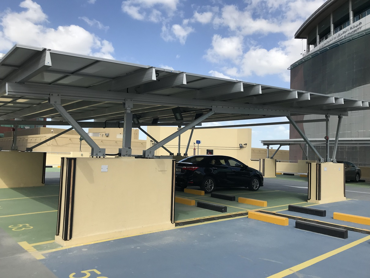Aluminum cutomized Solar Carport Mounting System